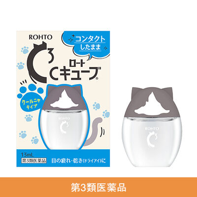 【完売】【第3類医薬品】ロートCキューブクール 猫耳目薬