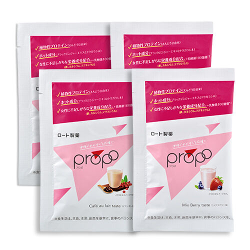 プロポ プロテイン 2味お試し4包セット(15g×4包)