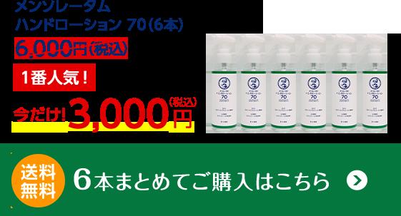メンソレータム6,000円(税込)送料無料