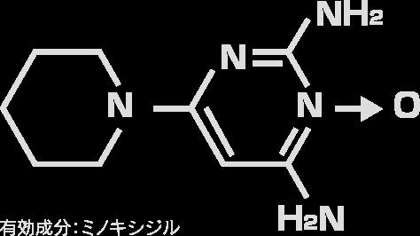 有効成分:ミノキシジル